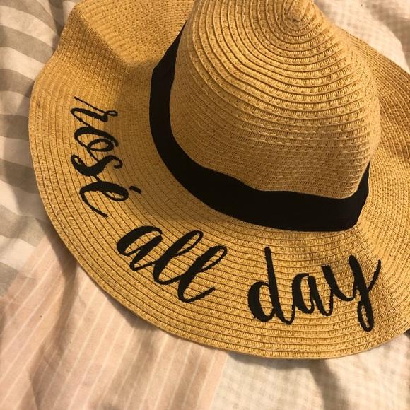 b04a6b15 Accessories   Rose All Day Beach Hat   Poshmark